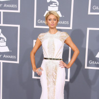 Who looked prettier on the Grammy red carpet, Paris Hilton or Rebecca Black?