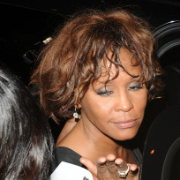 Whitney houston looking rough