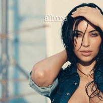Kim Kardashian in Allure