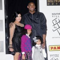 Kobe bryant family