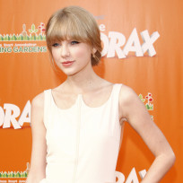 Taylor Swift at Lorax Premiere