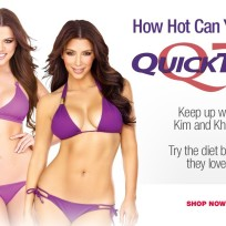 Kim and Khloe QuickTrim Ad