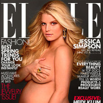 What do you think of Jessica Simpson's nude, pregnant Elle cover?