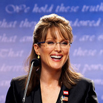 Julianne Moore as Palin