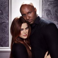 Khloe and lamar photo