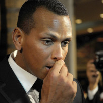 Nose picking by alex rodriguez