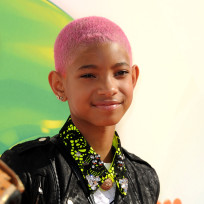 What do you think of Willow Smith with pink hair?