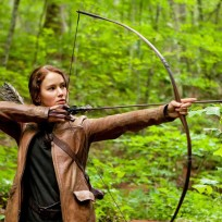 Katniss everdeen hunting