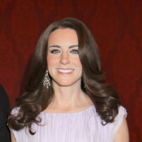 Kate Middleton Wax Figure