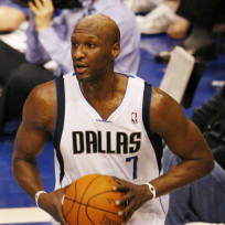 Lamar Odom in Dallas