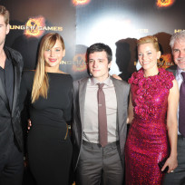 The hunger games cast director
