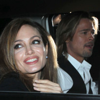 Angelina and Brad Photo