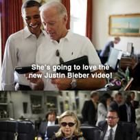Clinton obama and biden texting