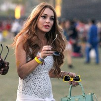 Lohan at Coachella