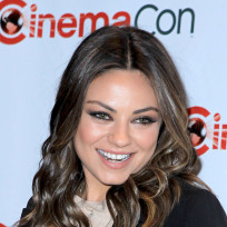Mila Kunis at CineCon