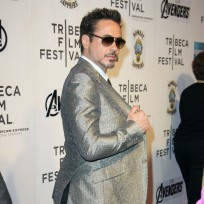 Robert downey jr movie premiere pic