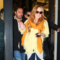 Lindsay Lohan and Vikram Chatwal