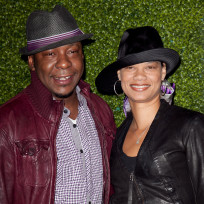 Alicia Etheridge and Bobby Brown