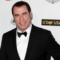 John Travolta in a Tux