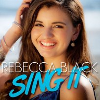 Rebecca black single art
