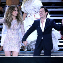 Jennifer lopez and marc anthony in las vegas