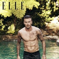 David Beckham Shirtless Photo