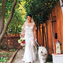 Priscilla chan wedding dress