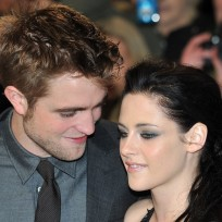 Robert Pattinson and Kristen Stewart Photograph