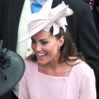Kate Middleton in Pink