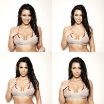 Wet, Wild Kim Kardashian