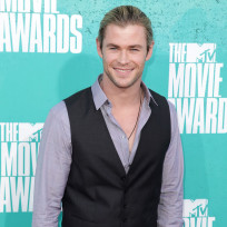 Chris hemsworth at mtv movie awards