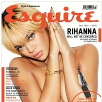 Rihanna Topless in Esquire UK