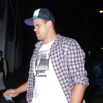 Kris Humphries in Beverly Hills