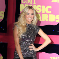 Carrie Underwood at the CMT Awards