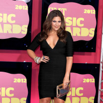 Hillary Scott at the CMT Awards