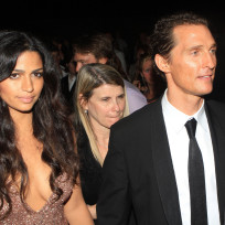 Matthew McConaughey and Camila Alves Photograph