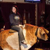 Bristol Palin Riding