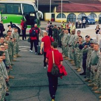 US Soccer Team Snubs Troops