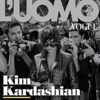 Kim Kardashian on L'Uomo Vogue Cover