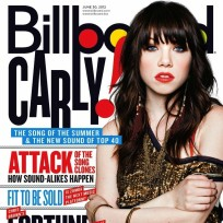 Carly Rae Jepsen Billboard Magzine Cover