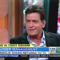 Charlie Sheen on GMA