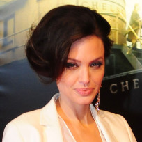 What do you think of Angelina Jolie's flipped hairdo?