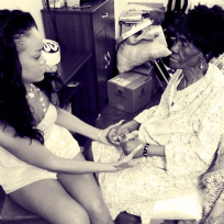 Rihanna, Grandmother