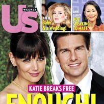 Katie Holmes Breaks FREE!
