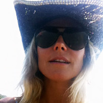 Heidi Klum Twit Pic