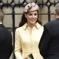 Kate Middleton, Yellow Coat Dress