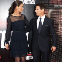 Tom Cruise, Katie Holmes Photograph