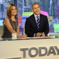 Savannah guthrie and matt lauer