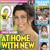 Kourtney Kardashian on OK!