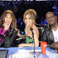 Randy jackson steven tyler and jennifer lopez